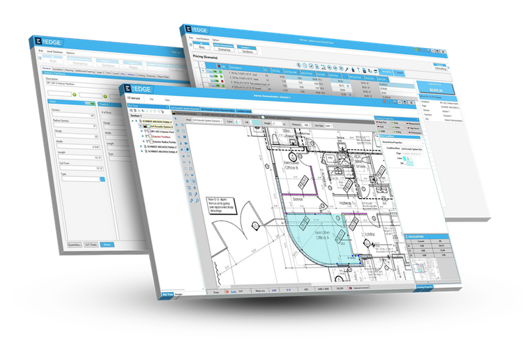 Takeoff and Construction Estimating Software for subcontractors to prepare construction estimates.