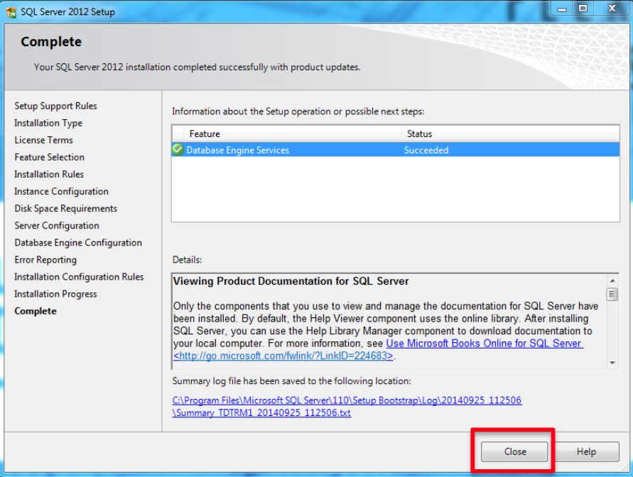 EDGE 10 7 7 Network Job Database Install   Estimating Edge